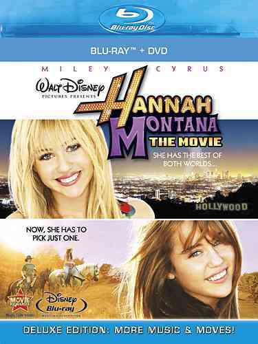 HANNAH MONTANA:MOVIE BY CYRUS,MILEY (Blu-Ray)